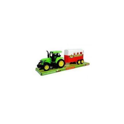 Moje gospodarstwo - Traktor z zamkniętą przyczepą (5902496115785)