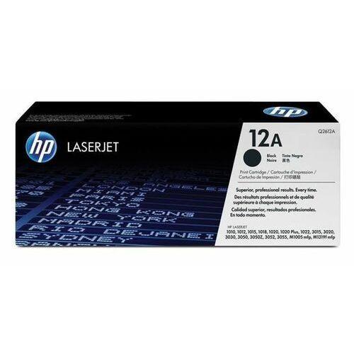 Toner oryginalny HP Q2612A do HP LaserJet 1010 1012 1018 1020 1022 3015 M1005 / Czarny / 2000 stron