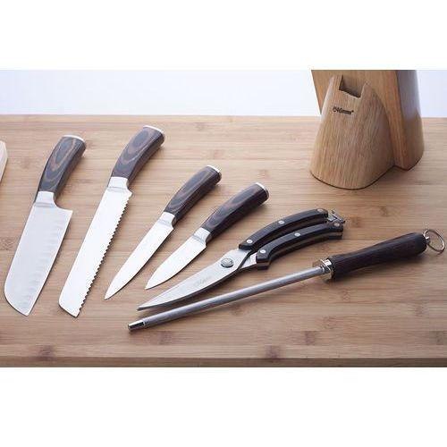 FEEL MAESTRO Noże kuchenne w bloku + nożyce + ostrzałka