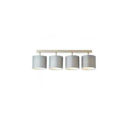 Brilliant Sandra 85031/22 plafon lampa sufitowa 4x40W E14 szara (4004353367793)
