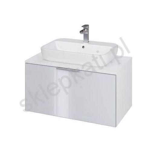 szafka stillo 80 biała/szara pod umywalkę nablatową s575-006 marki Cersanit