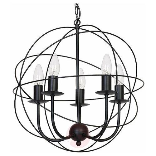 Luminex Żyrandol globe 5 5xe14/60w (5907565951356)