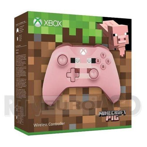 Microsoft  xbox one s kontroler bezprzewodowy minecraft pig - produkt w magazynie - szybka wysyłka!