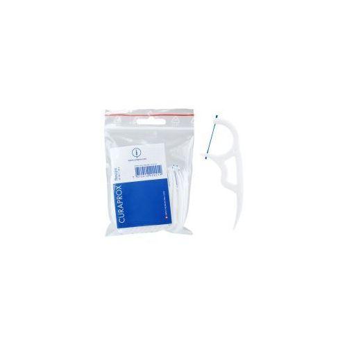 CURAPROX DF 967 Floss Pick - Nylonowe wykałaczki z rozpiętą nicią dentystyczną 30 szt. - produkt z kategorii- Nici dentystyczne