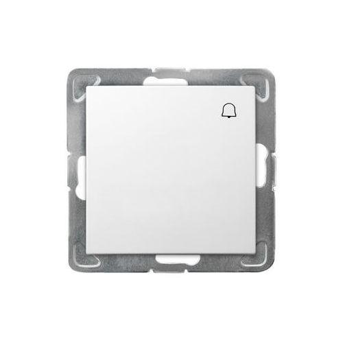 Ospel Impresja przycisk /dzwonek/ biały łp-6y/m/00 (5907577436605)