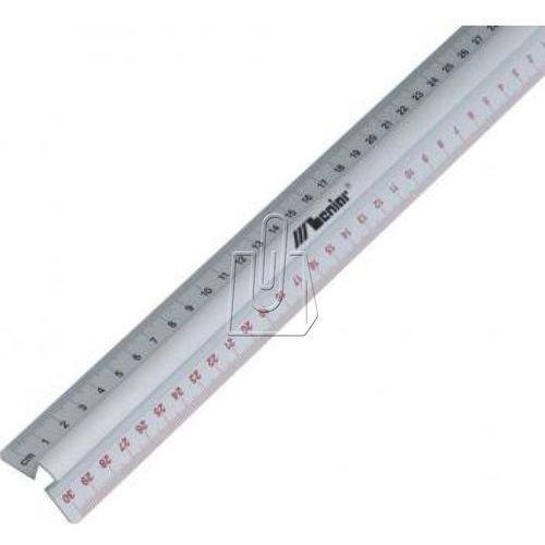 Leniar Linijka aluminiowa 50 cm z uchwytem (30162) (5903057301623)