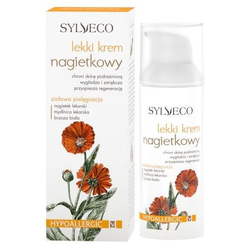 face care krem ochronny do skóry tłustej i mieszanej calendula (hypoallergenic) 50 ml marki Sylveco