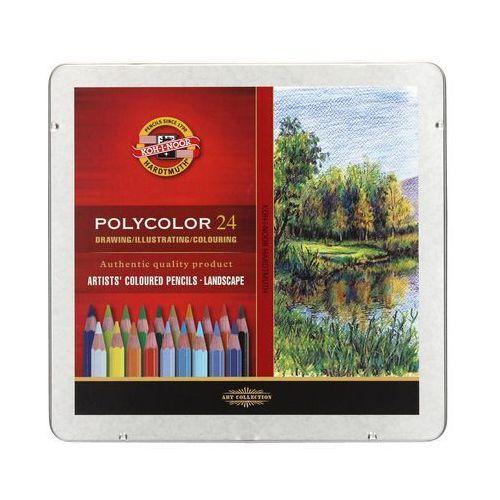 Kredki ołówkowe 24kol krajobraz polycolor kin 3824/15 marki Koh i noor