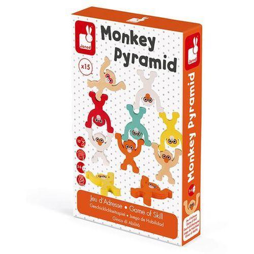 Gra zręcznościowa Janod - Piramida Małpki J02783, J02783