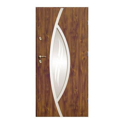 O.k.doors Drzwi zewnętrzne otto ellise 90 prawe złoty dąb