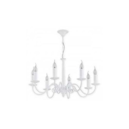 asti o2898 w8 bia lampa wisząca zwis 8x60w e14 biały matowy marki Lemir