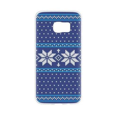 Etui FLAVR Case Ugly Xmas Sweater do Samsung Galaxy S7 Niebieski (27386)