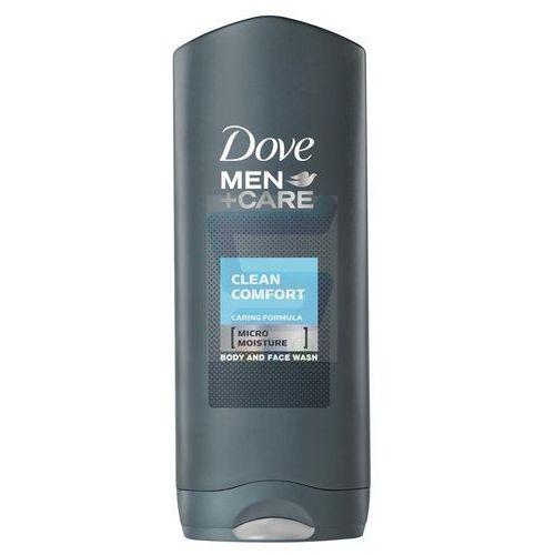 men+care clean comfort żel pod prysznic (body and face wash) 250 ml marki Dove