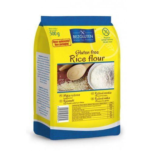 Mąka ryżowa 500g  wyprodukowany przez Bezgluten