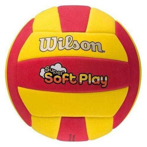 Wilson Piłka siatkowa soft play czerwono-żółta wth3509xb (2010000511695)