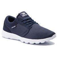 Sneakersy - hammer run 08128-472-m navy/white white, Supra, 41-46