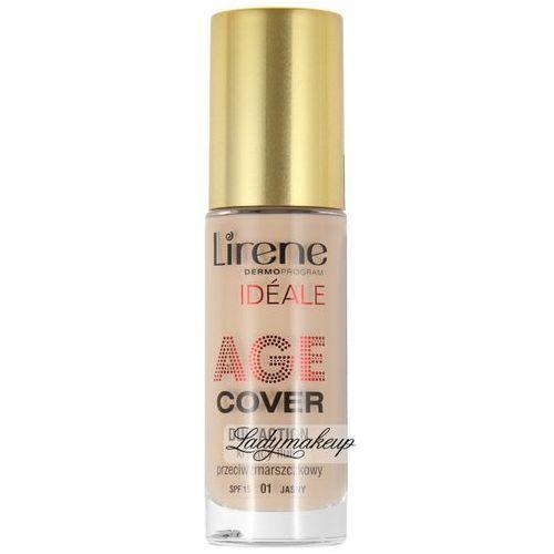 Lirene - AGE COVER DUO ACTION - Kryjący fluid przeciwzmarszczkowy - 01 - JASNY