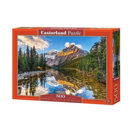 Puzzle 500 Morning Sunlight in the Rockies CASTOR
