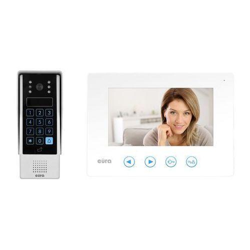 Eura-tech Wideodomofon eura vdp-10a3 jupiter biały (5905548275314)