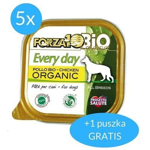 Forza10 every day dla psa 5x100g + 100g gratis (600g): smak - kurczak dostawa 24h gratis od 99zł (8020245080096)