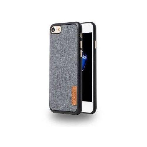 Etui AZURI Elegante iPhone 7/8 jeans czarny AZCOVELFABIPH7-BLK, kolor Etui