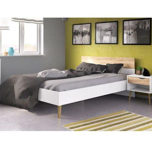 Łóżko Oslo 180x200 w stylu skandynawskim