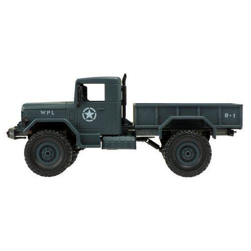 Zdalnie sterowany samochód RC wojskowy leśny