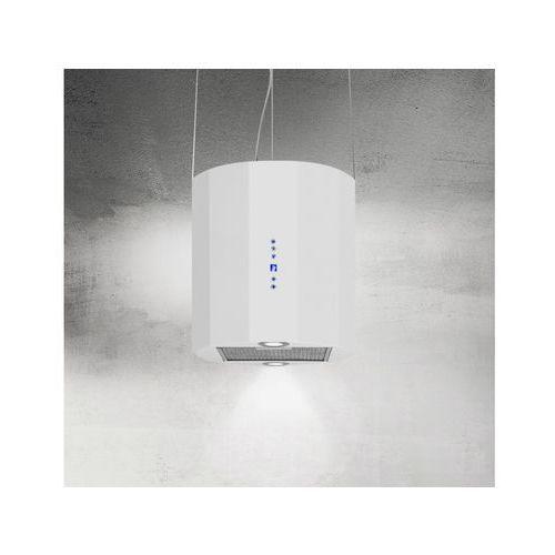 Okap wyspowy na lince arto biały 40 cm, 635 m3/h marki Afrelli