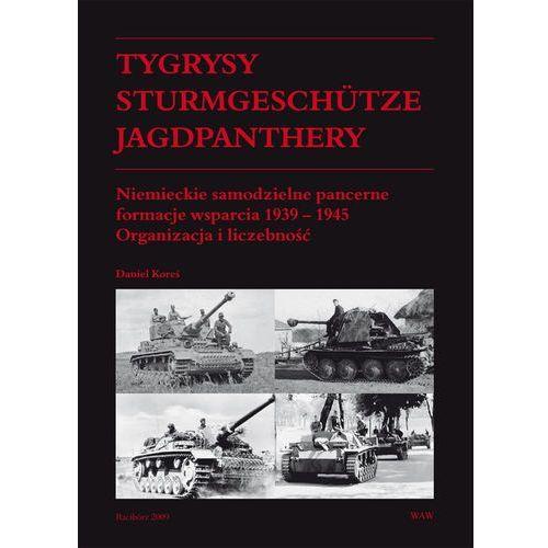 Tygrysy Sturmgeschütze Jagdpanthery. Niemieckie samodzielne pancerne formacje wsparcia 1939 ? 1945, oprawa twarda