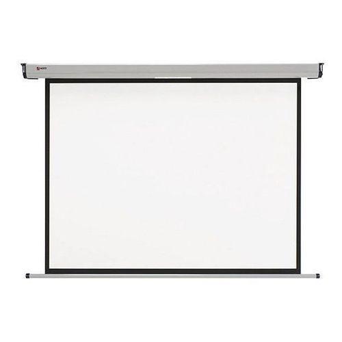 Elektryczny ekran projekcyjny ścienny Nobo 1901971 - 160x120cm