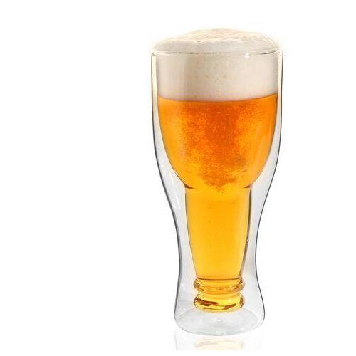 Szklanka do piwa z podwójnymi ściankami Vialli Design Amo 350 ml, 20313VD