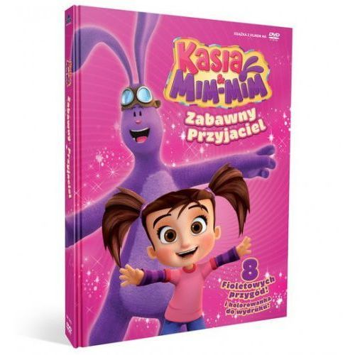 Cass film Kasia i mim mim zabawny przyjaciel książka + dvd (9788394581718)
