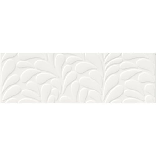 Opoczno Moon line white satin structure 29x89 gat ii