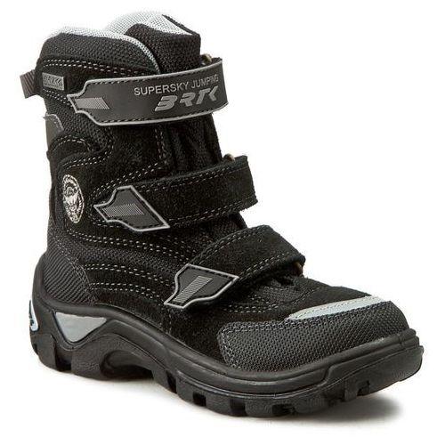Śniegowce BARTEK - 94672-167 Czarny