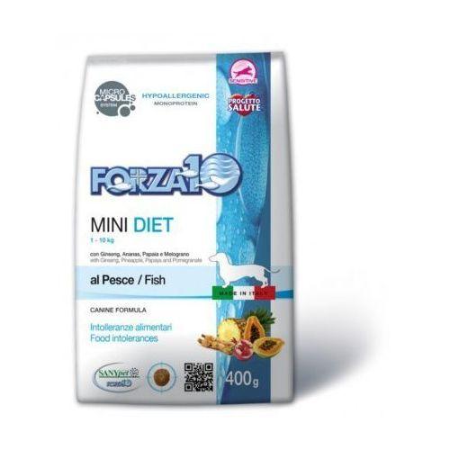 Forza10 mini diet fish dla psa termin ważności: lipiec 2018: waga - 400 g dostawa 24h gratis od 99zł