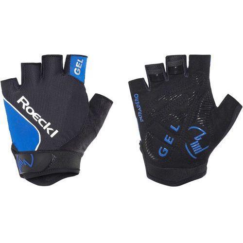 Roeckl illano rękawiczka rowerowa niebieski/czarny 7,5 2018 rękawiczki szosowe