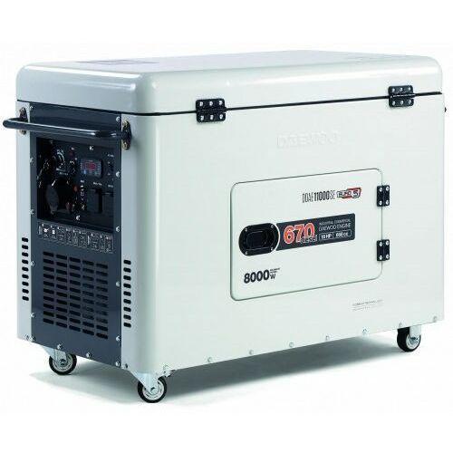 Daewoo Agregat prądotwórczy ddae 11000se 8kw diesel wyciszony
