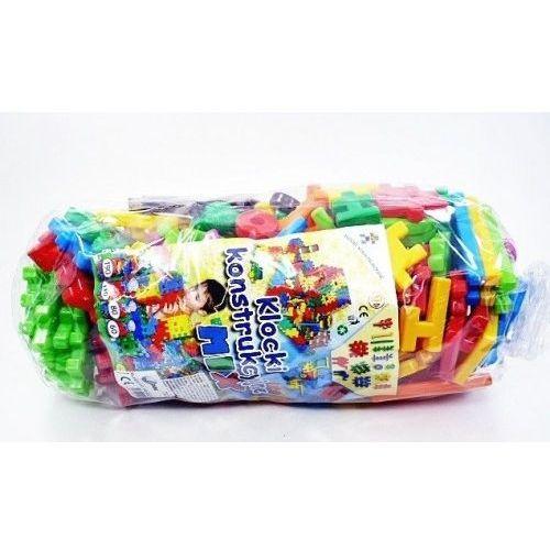 Klocki konstrukcyjne mix 260 zabawka dla dzieci