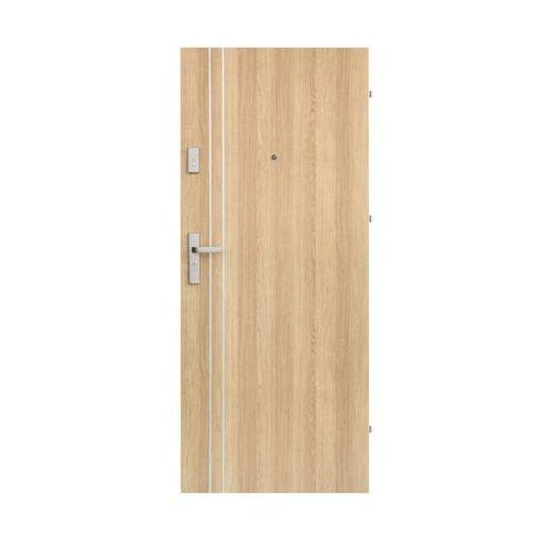 Drzwi wejściowe IRYD 01 Dąb polski 90 Prawe DOMIDOR (5907479330360)