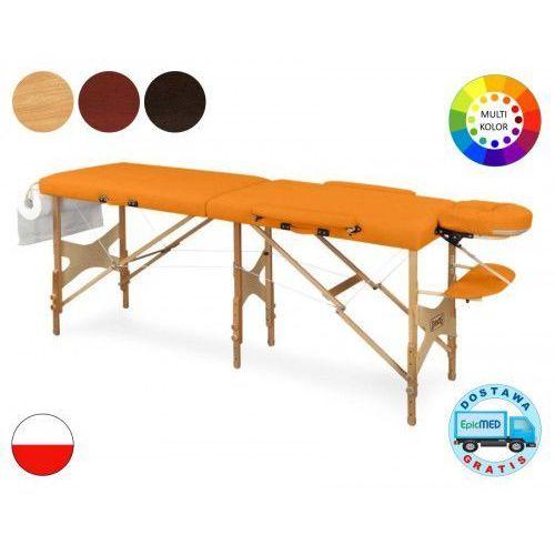 Juventas Składany stół do masażu tris lm5 drewniany z regulacją wysokości