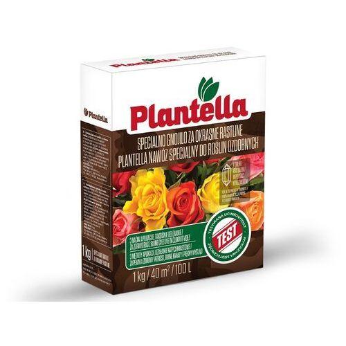 Nawóz do roślin ozdobnych Plantella. Mineralny nawóz do krzewów i roślin ozdobnych 1kg.