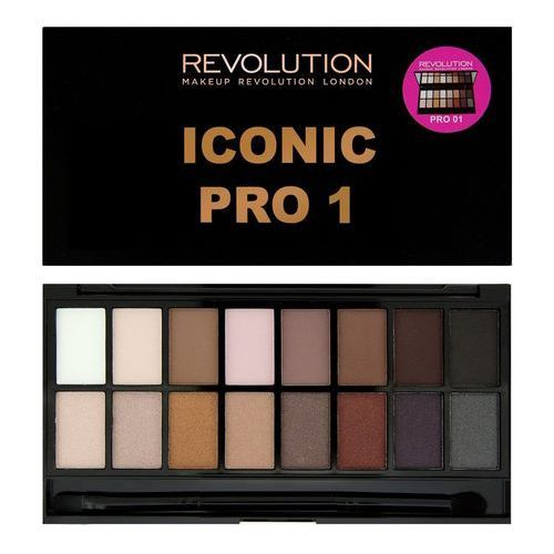 MAKEUP REVOLUTION Iconic Pro 1 paleta 16 cieni 16g