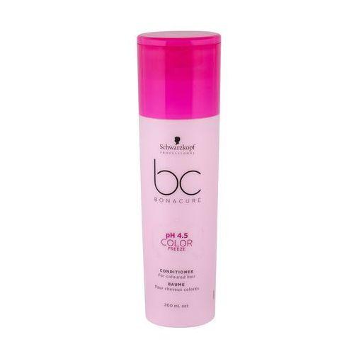 bc color freeze ph 4.5, odżywka do włosów farbowanych, 200ml marki Schwarzkopf