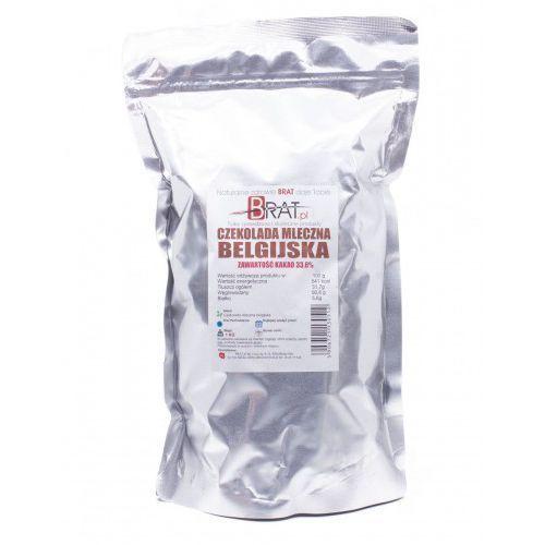 Brat.pl Czekolada mleczna belgijska 1kg