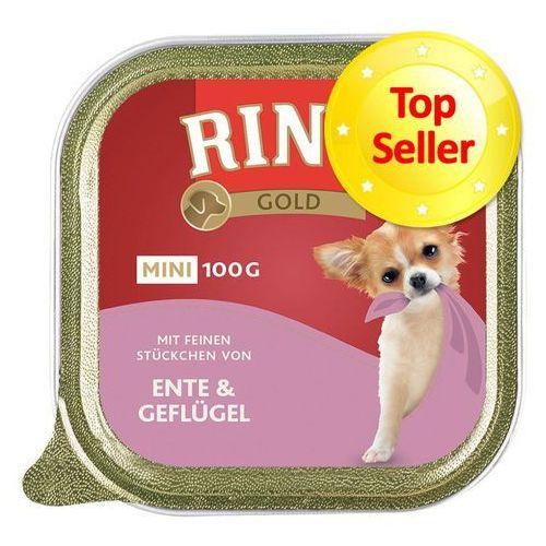 RINTI 100g Mini Gold wołowina i perliczka karma dla psów ras małych, PRIN012