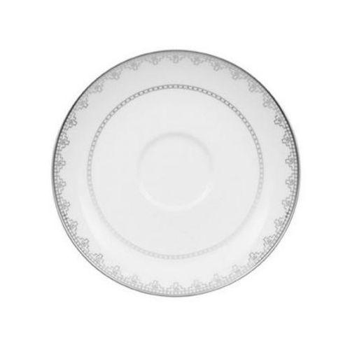 Villeroy & boch - white lace spodek do filiżanki do kawy średnica: 15 cm