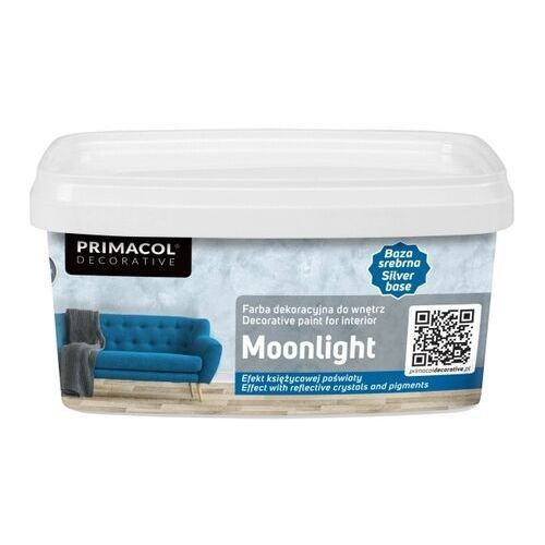 Primacol Farba dekoracyjna moonlight srebrny 1 l (5906725257628)