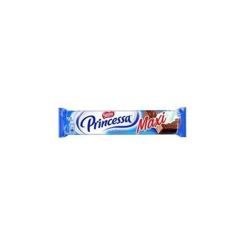Wafel princessa longa mleczna przekładany kremem kakaowym oblany mleczną czekoladą 49 g marki Nestle