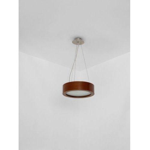 Lampa wisząca lukomo 30 niska 1xe27 żarówka led gratis!, 8665a1+ marki Cleoni