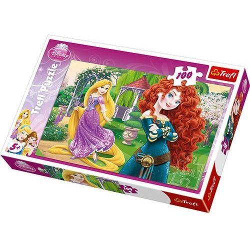 Puzzle 100 Zadziorne księżniczki (5900511161991)